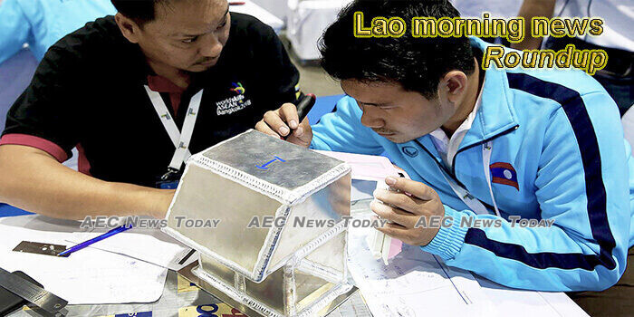 Lao morning news for July 13