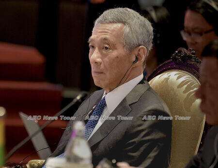 Prime Minister Lee implicitly sought a clean sweep of seats