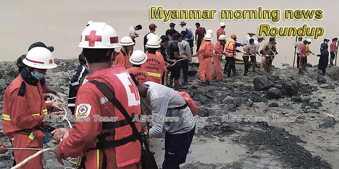 Myanmar morning news for July 9