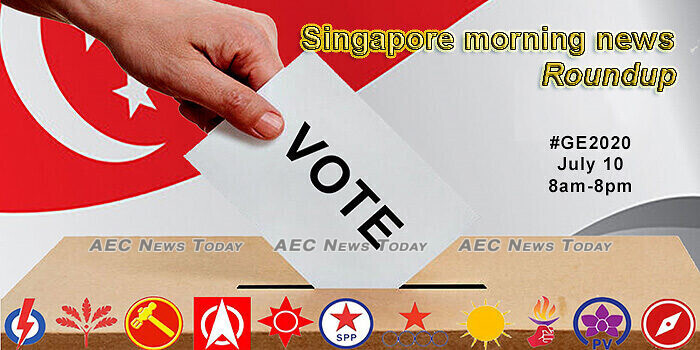Singapore morning news for July 8