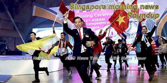 Singapore morning news for July 13