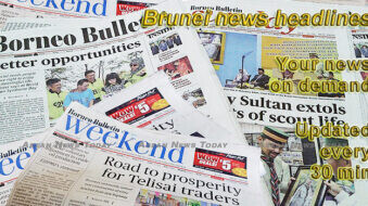 Brunei news headlines