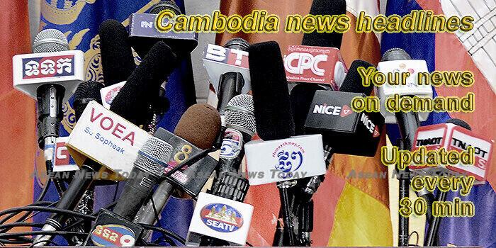 Cambodia news headlines